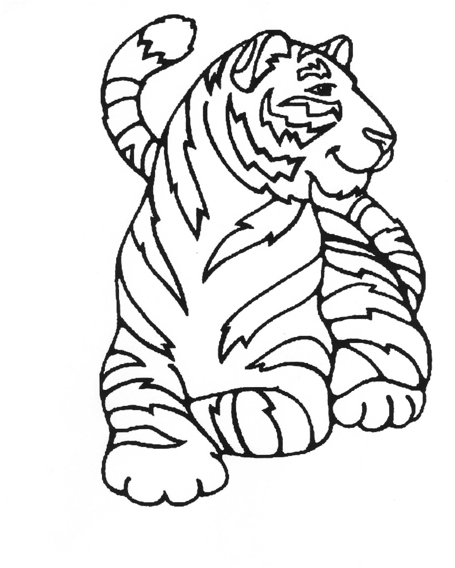 tiger images for colouring tiger images for colouring for images colouring tiger