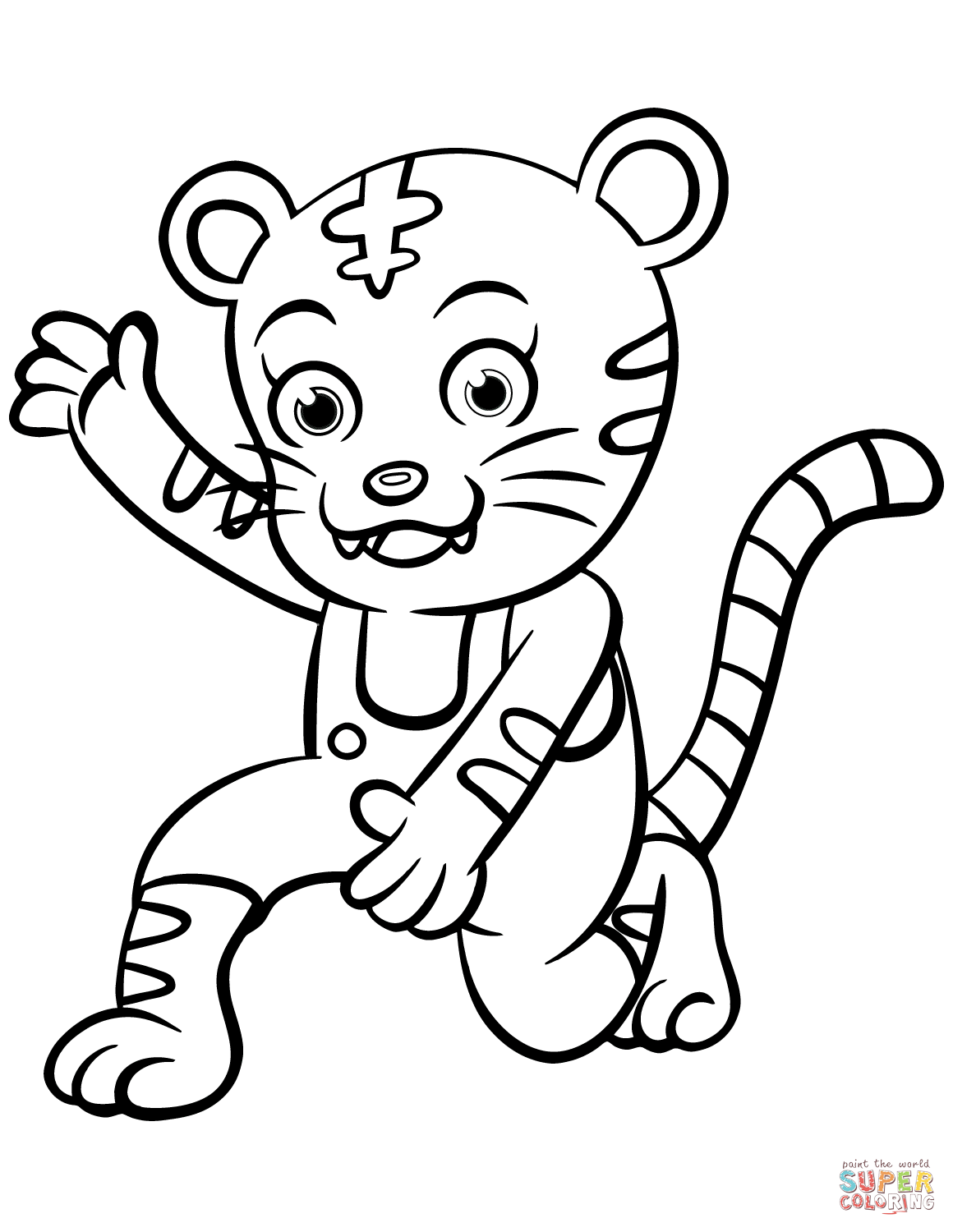 tiger pictures to colour tigers free to color for kids tigers kids coloring pages pictures to tiger colour