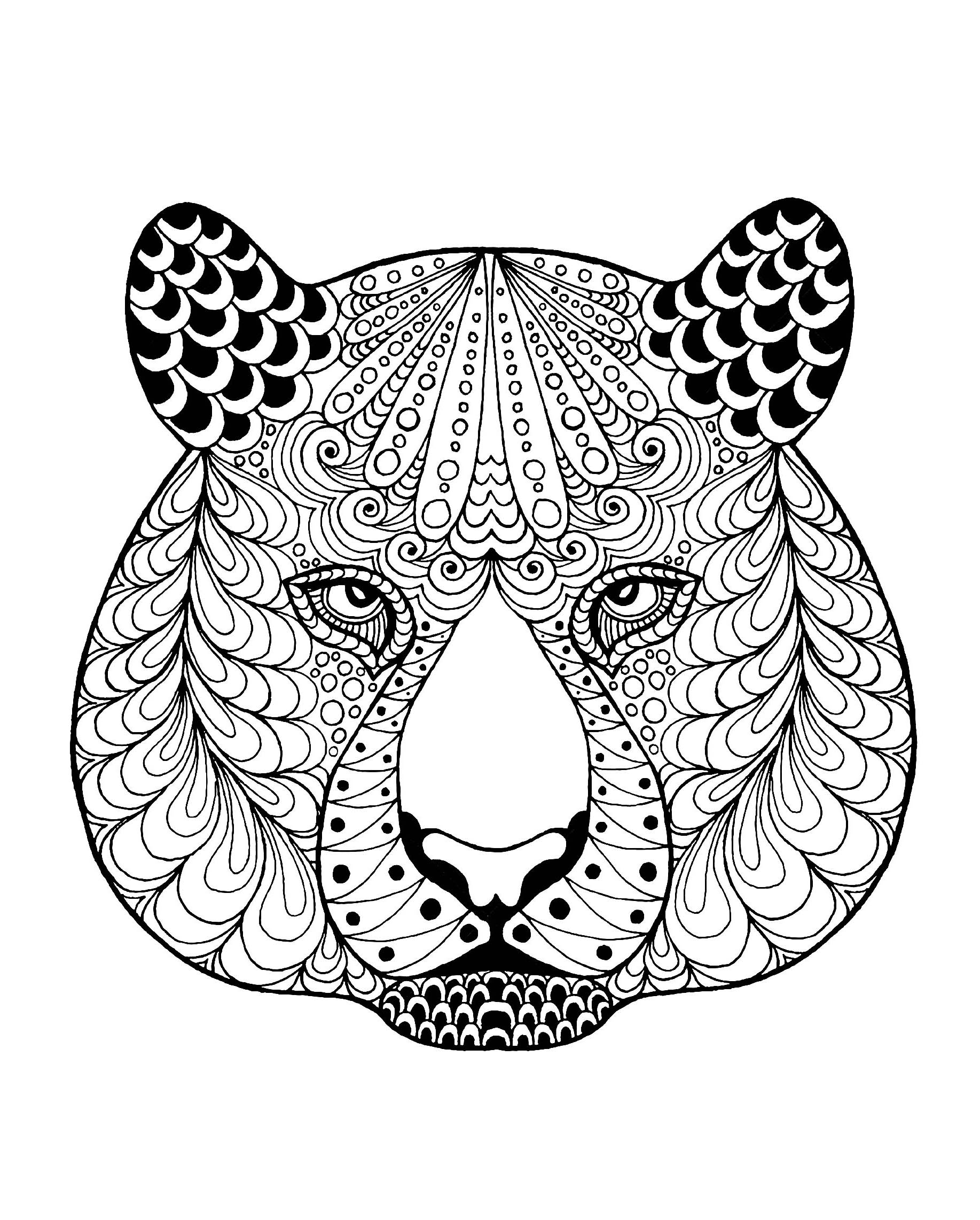 tiger printable coloring pages tiger coloring pages kidsuki coloring tiger printable pages