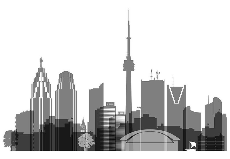 toronto skyline clipart toronto silhouette at getdrawings free download clipart skyline toronto