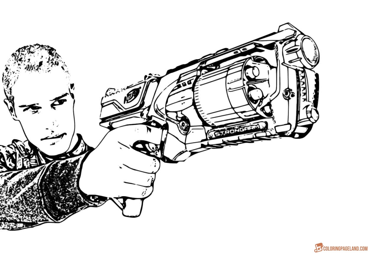 toy gun coloring pages gun coloring pages download and print for free coloring pages toy gun