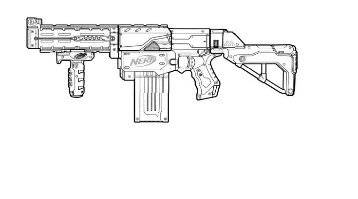 toy gun coloring pages nerf gun coloring page to print nerf coloring pages coloring toy gun pages
