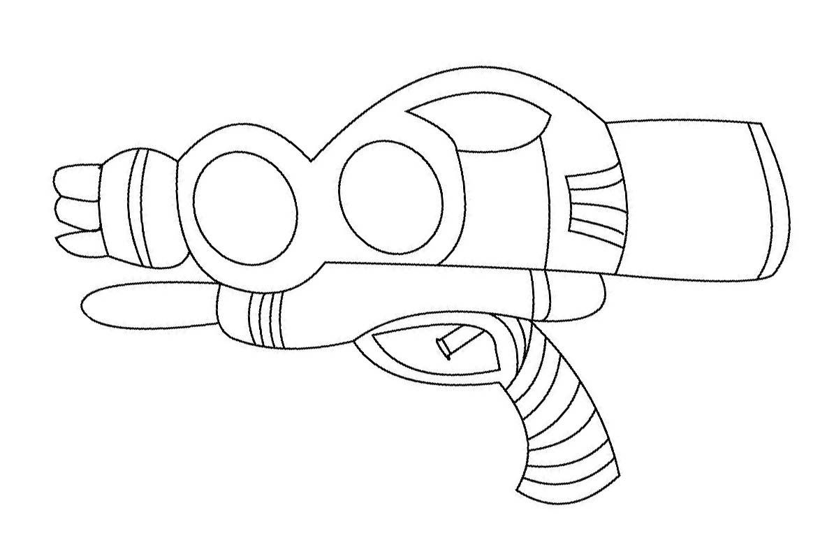 toy gun coloring pages nerf gun coloring pages idea whitesbelfast pages toy gun coloring