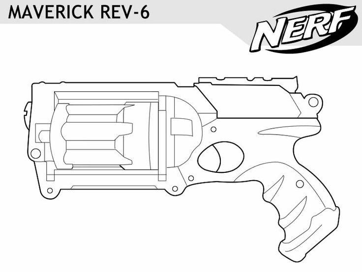 toy gun coloring pages nerf gun drawing at getdrawings free download coloring gun pages toy