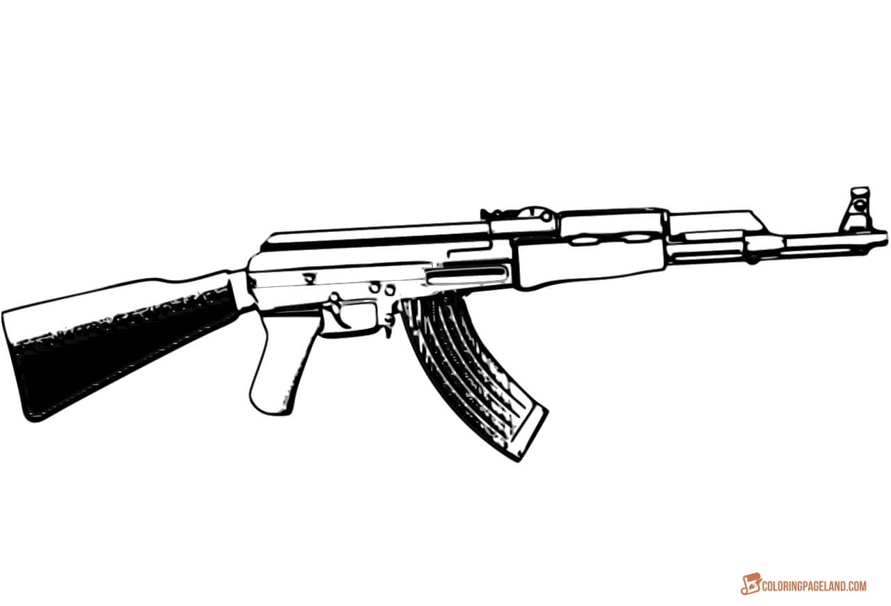 toy gun coloring pages nerf gun silhouette at getdrawings free download pages gun toy coloring
