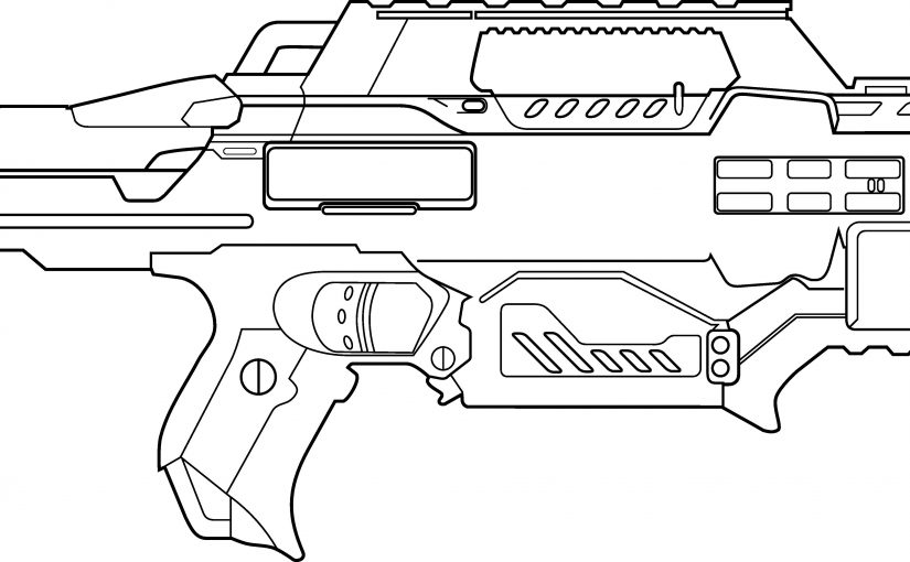 toy gun coloring pages nerf guns coloring pages print for free wonder day toy gun coloring pages