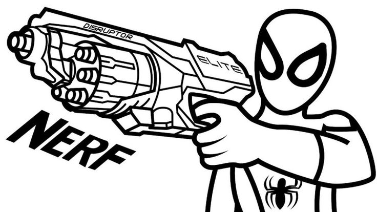 toy gun coloring pages pin on colby39s 6th birthday gun pages coloring toy