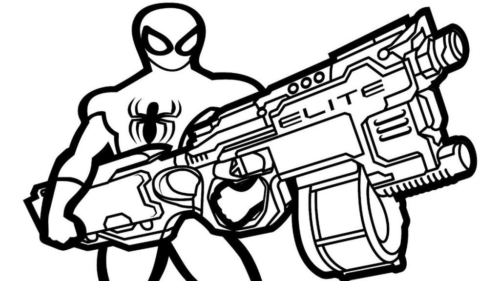 toy gun coloring pages pinterest pages toy coloring gun