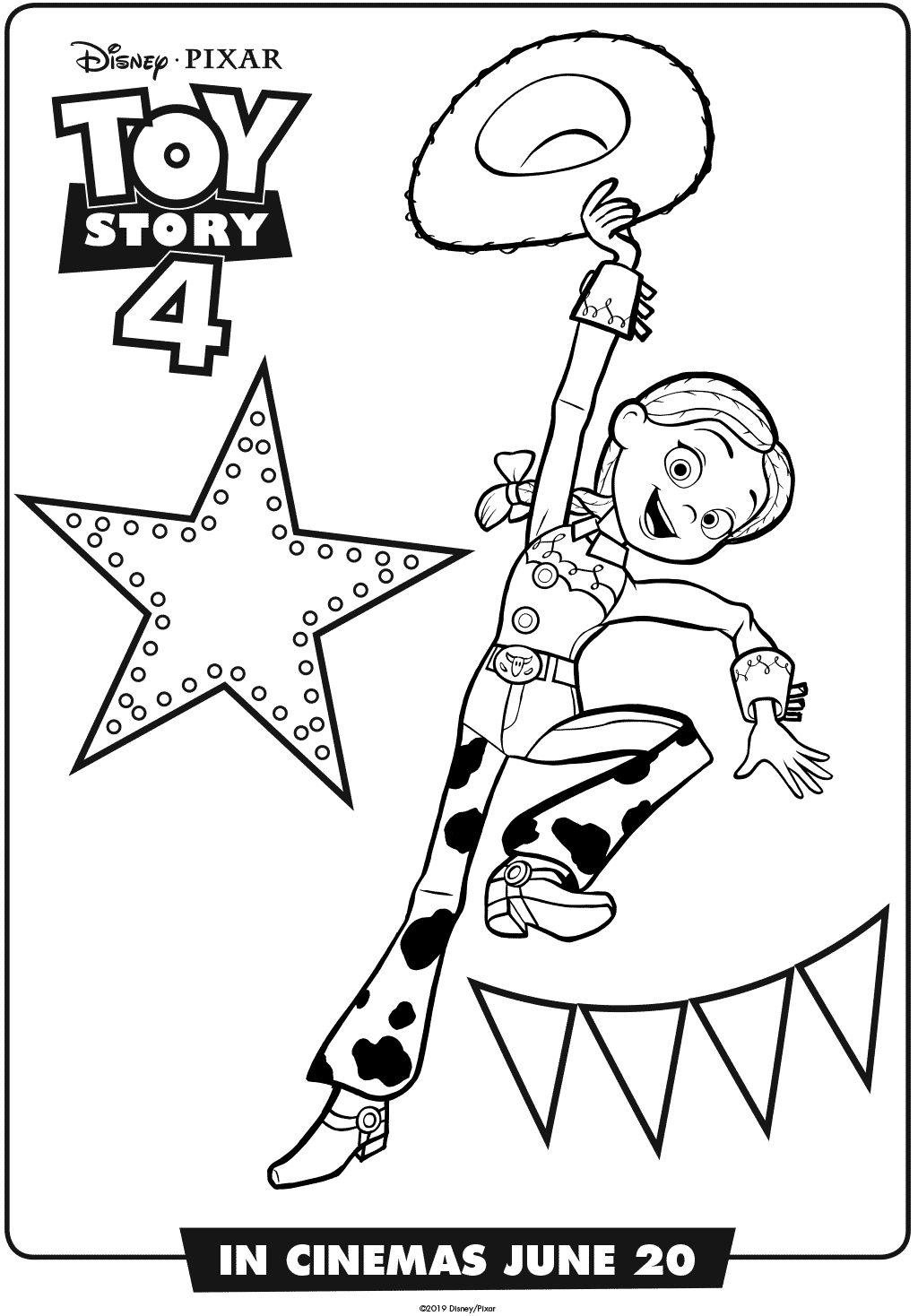 toy story 4 coloring pictures toy story 4 coloring pages for learning toy story 4 story pictures coloring 4 toy