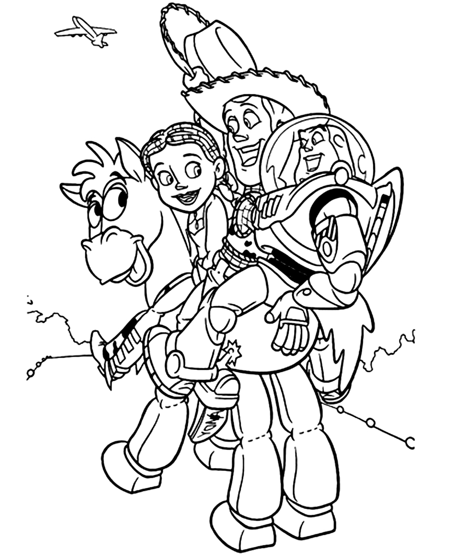 toy story 4 coloring pictures toy story 4 coloring pages get coloring pages story 4 toy pictures coloring