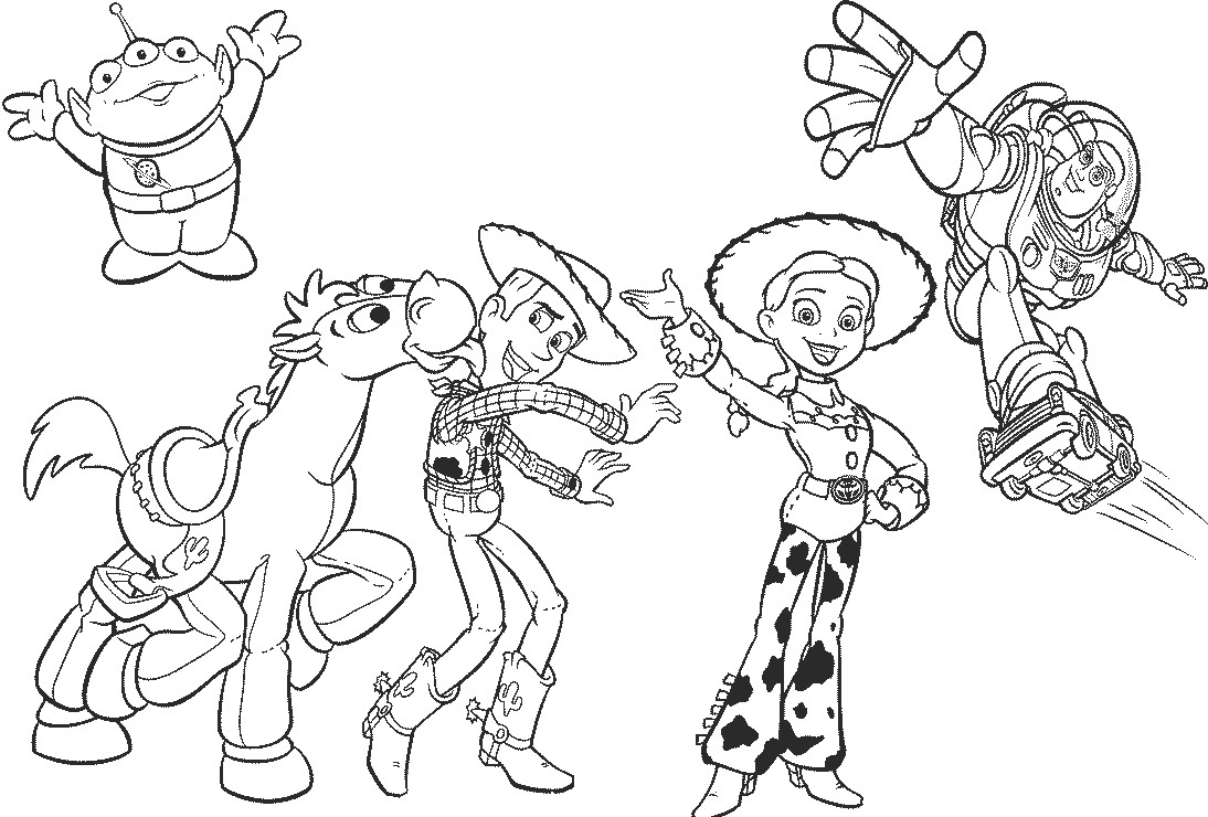 toy story 4 coloring pictures toy story 4 coloring pages getcoloringpagescom story 4 coloring pictures toy