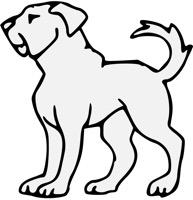 traceable dog pictures dog  traceable heraldic art traceable pictures dog