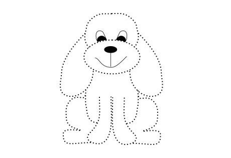 traceable dog pictures tracing alphabet d  smart kids printables traceable pictures dog