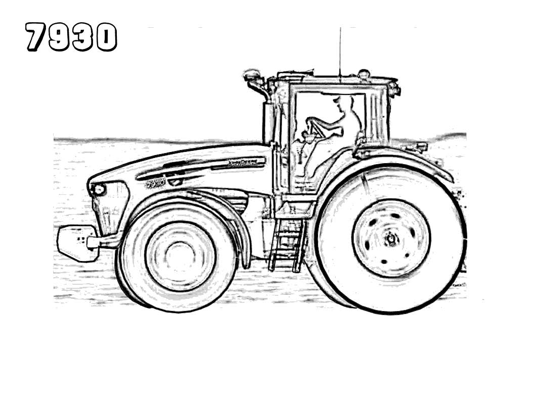 tractor pictures to color farmall tractor coloring pages at getdrawings free download to pictures tractor color