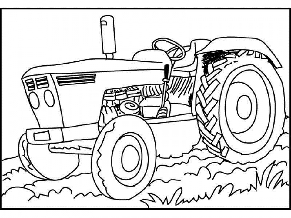 tractor pictures to color free printable tractor coloring pages for kids pictures to color tractor