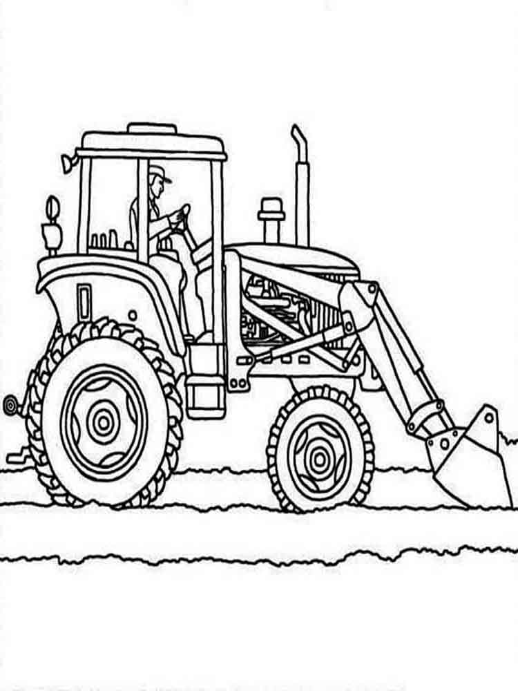 tractor pictures to color free printable tractor coloring pages for kids pictures to color tractor 1 1