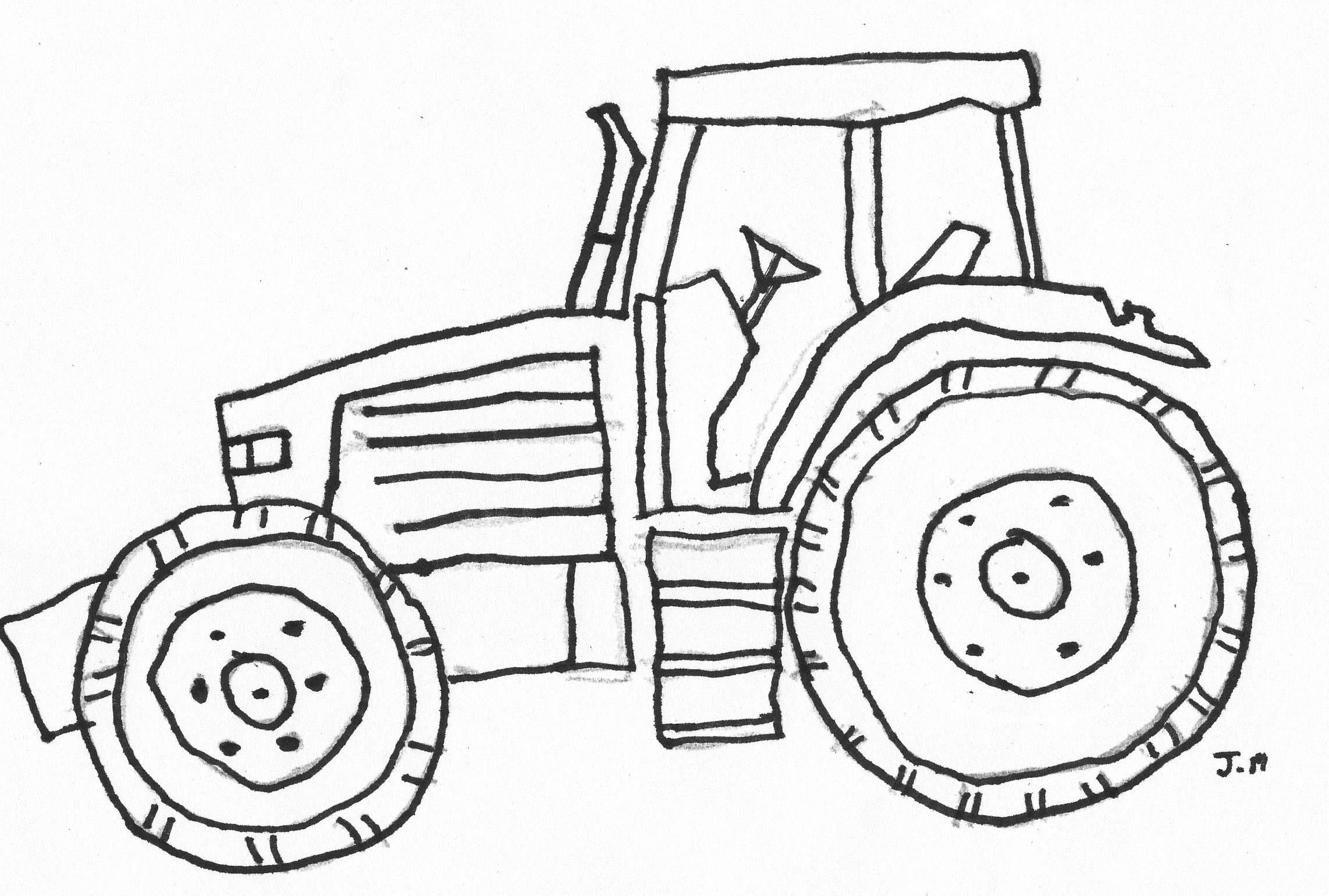 tractor pictures to color free tractor coloring pages printable kleurplaten tekenen tractor color to pictures