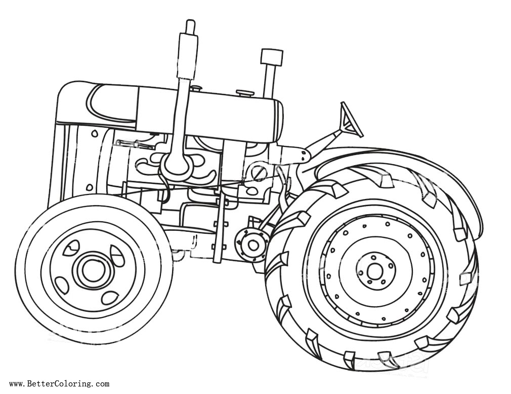 tractor pictures to color printable john deere coloring pages for kids to tractor pictures color