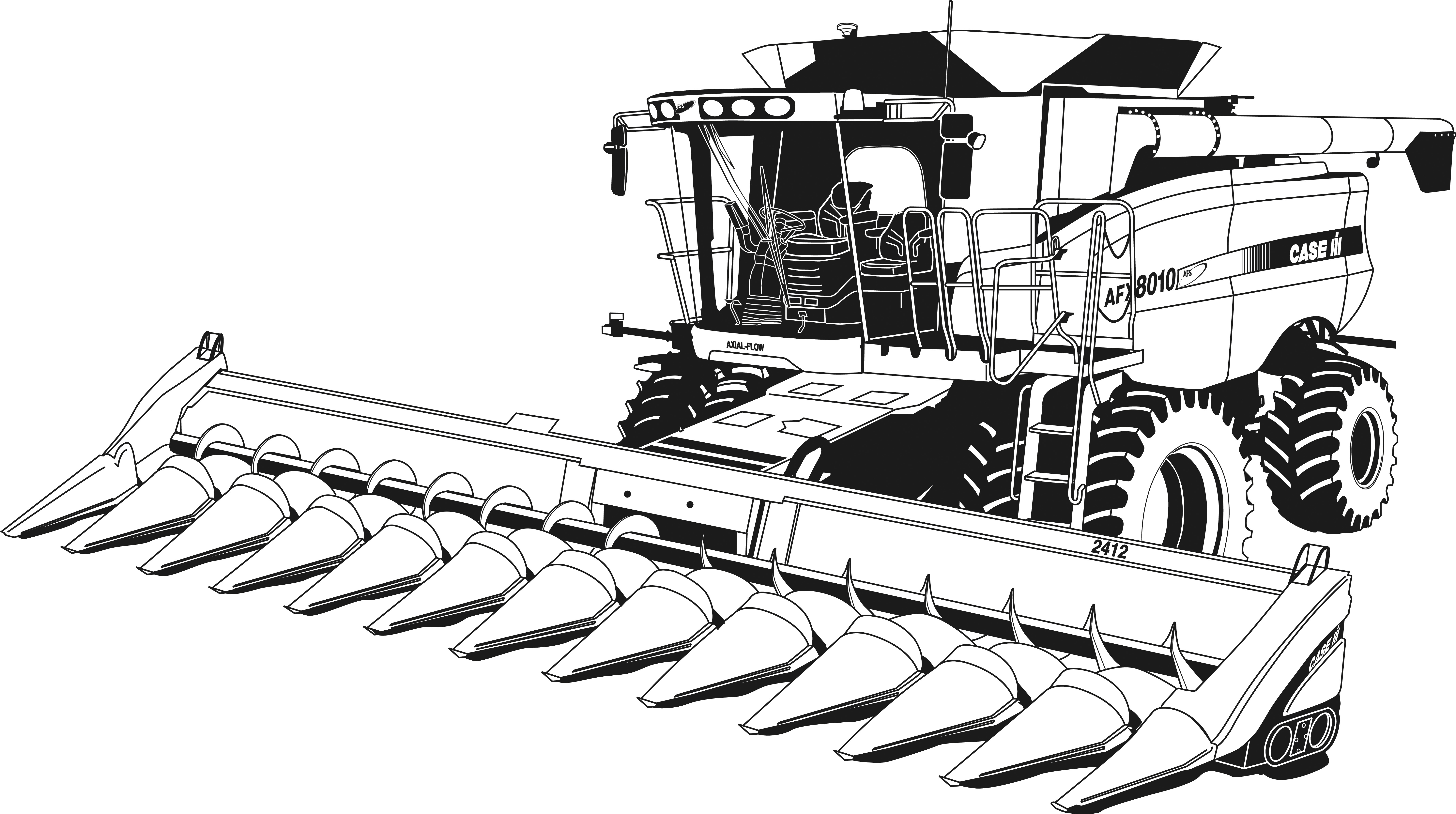 tractor pictures to color simple tractor coloring pages at getcoloringscom free tractor color to pictures