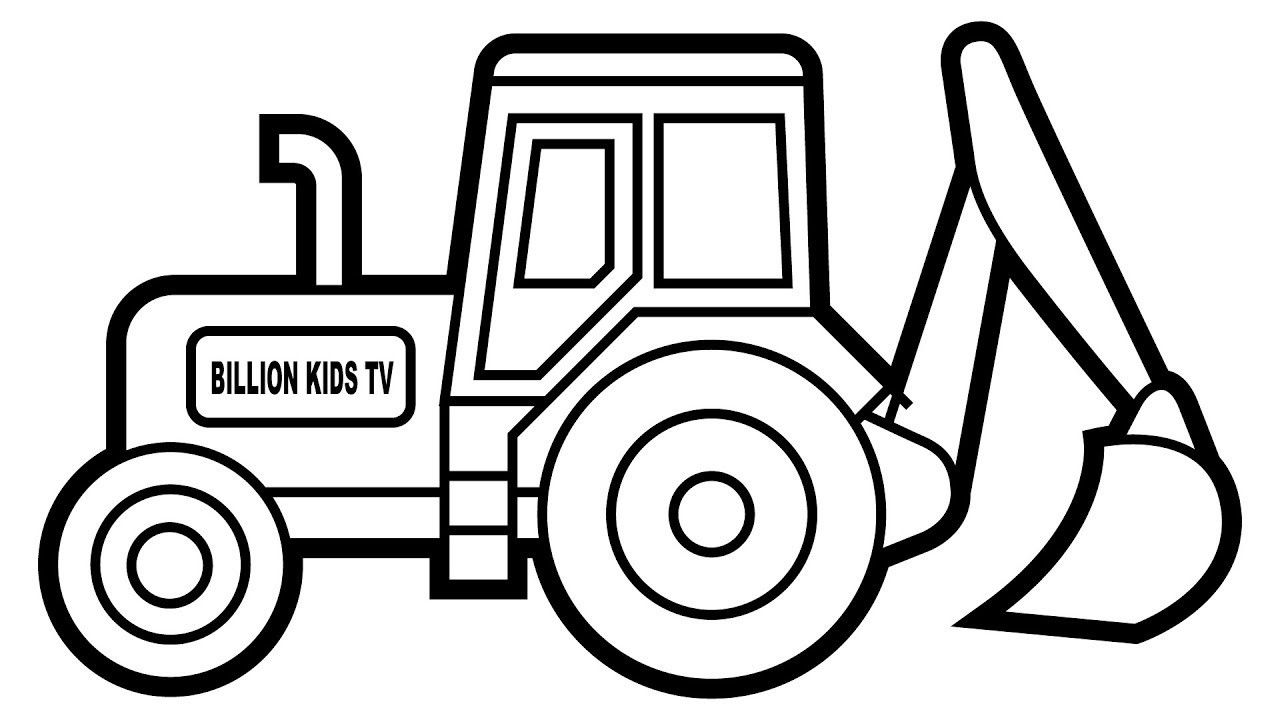 tractor pictures to color tractor coloring pages download and print tractor to tractor color pictures