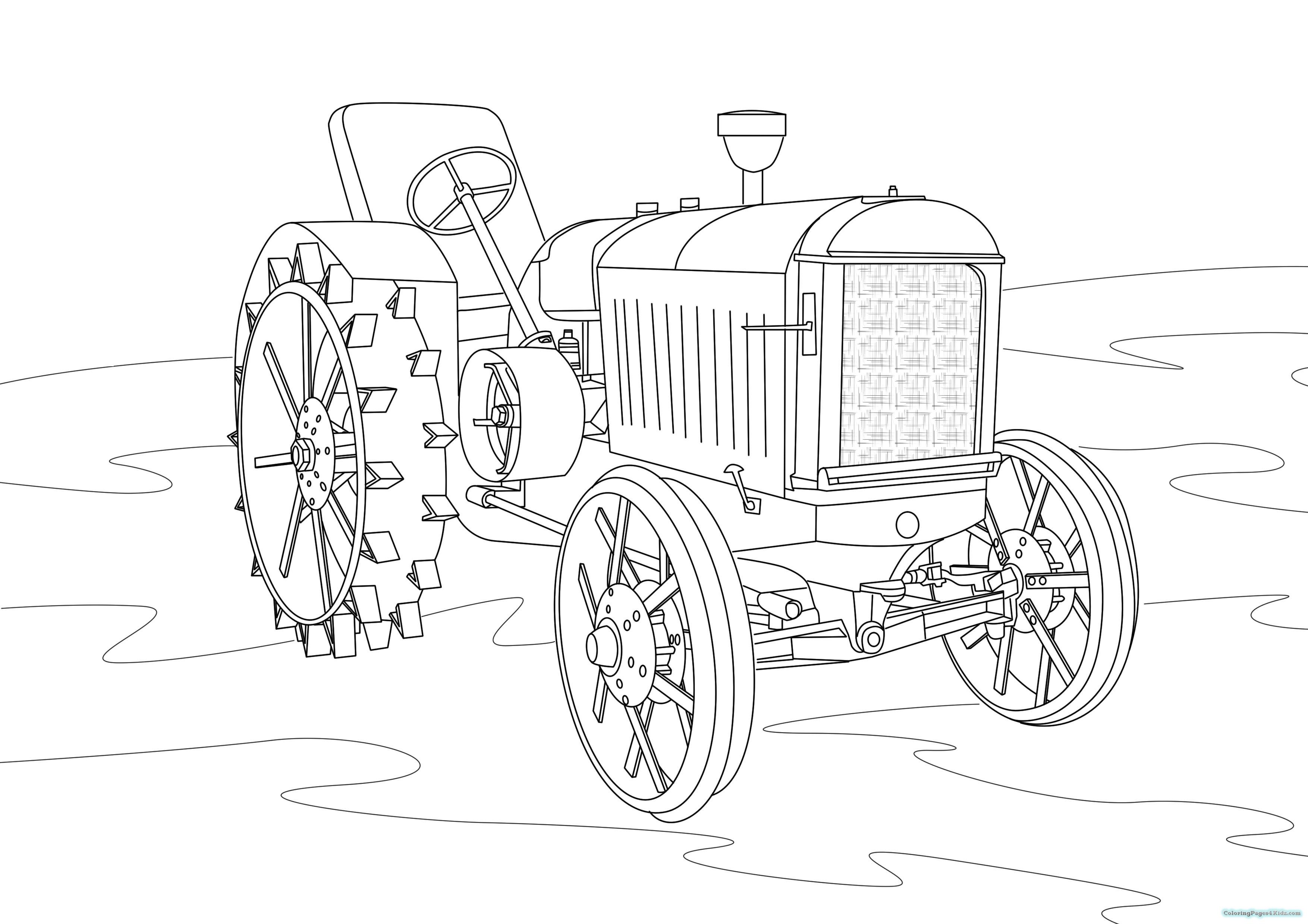 tractor pictures to colour in free printable tractor coloring pages at getcoloringscom in to tractor colour pictures