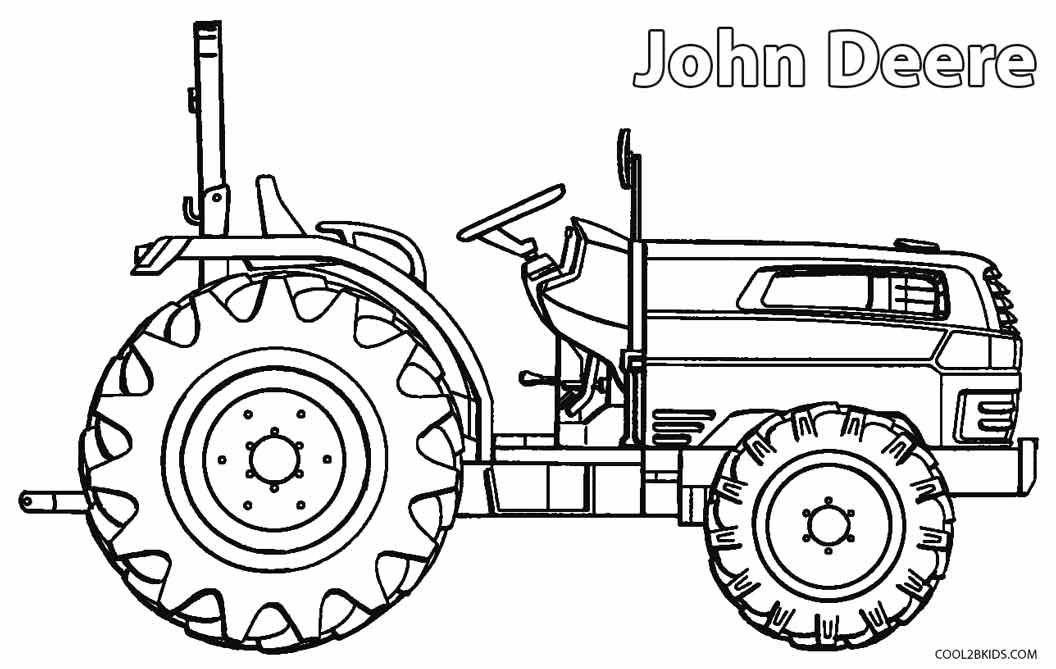tractor pictures to colour in tractor drawing for kids at getdrawings free download in to colour pictures tractor