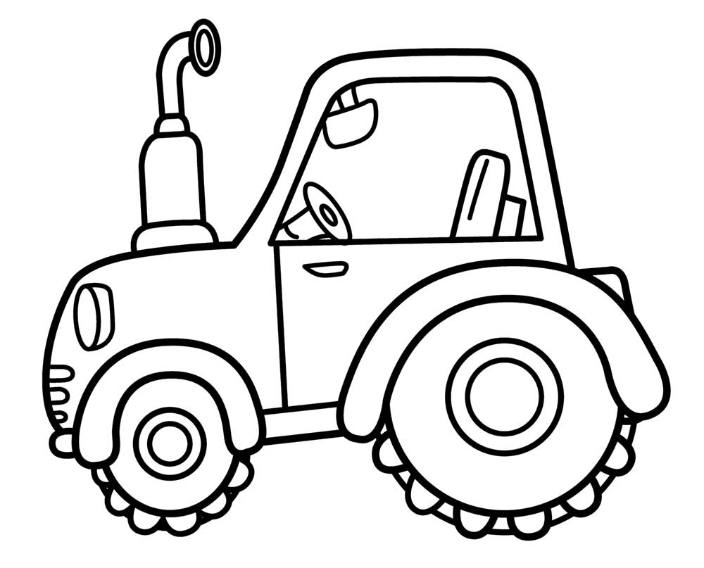 tractor pictures to colour in tractor with a plow coloring pages coloring pages for kids to in colour pictures tractor