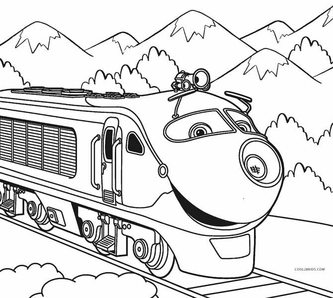 train coloring image cartoon train coloring pages at getcoloringscom free coloring train image