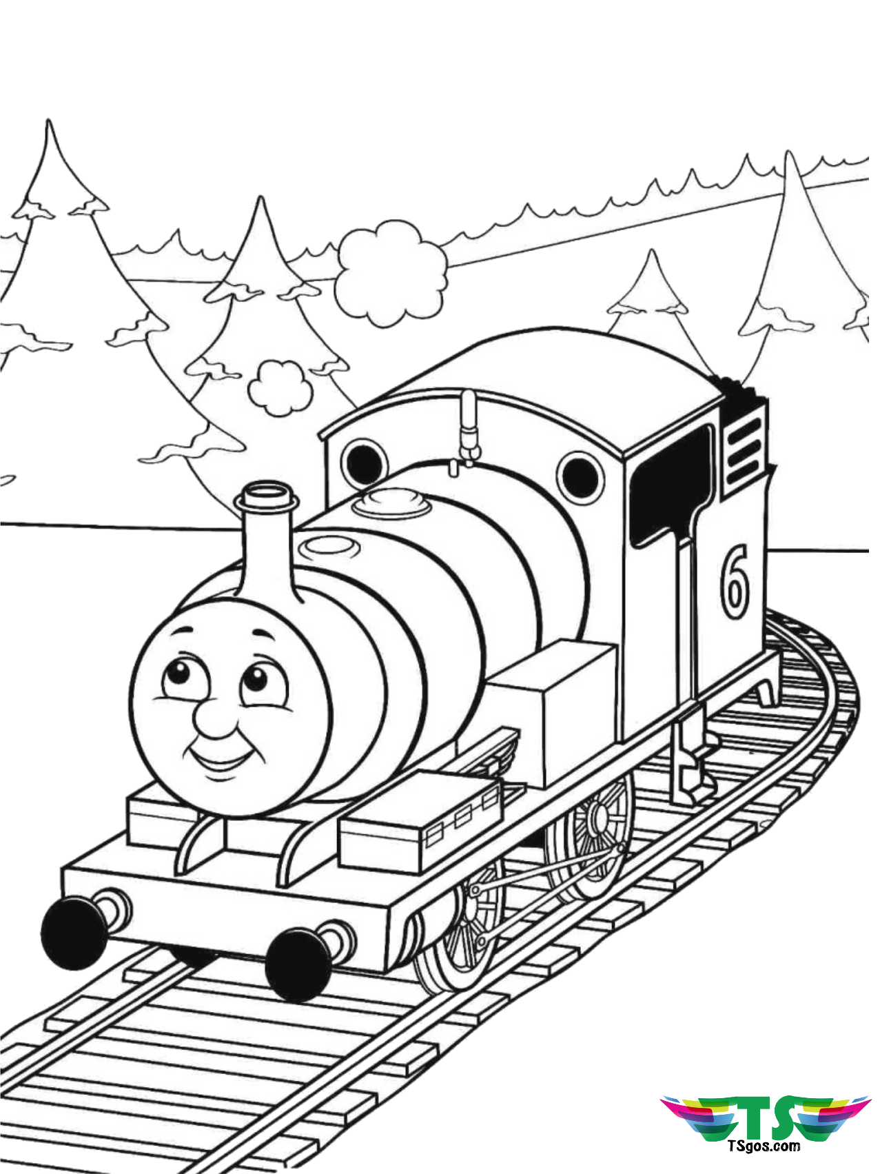 train coloring image free printable train coloring pages for kids cool2bkids train image coloring