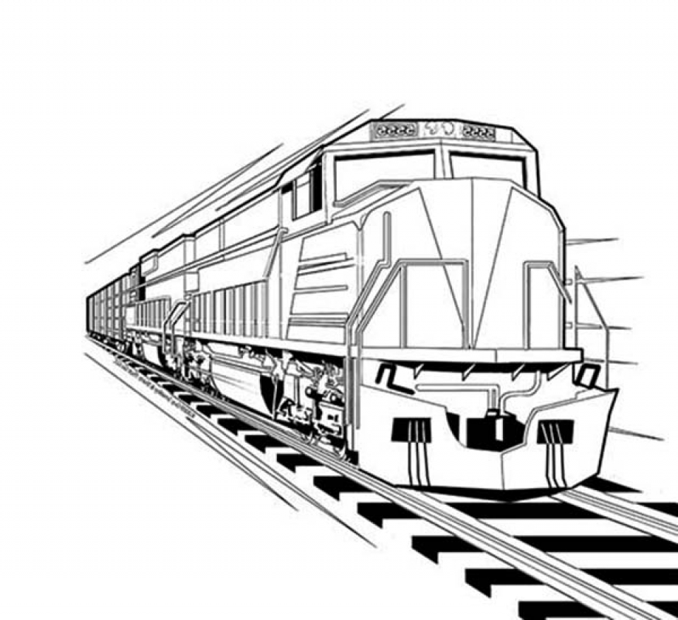 train coloring image get this train coloring pages for kindergarten 41778 coloring train image