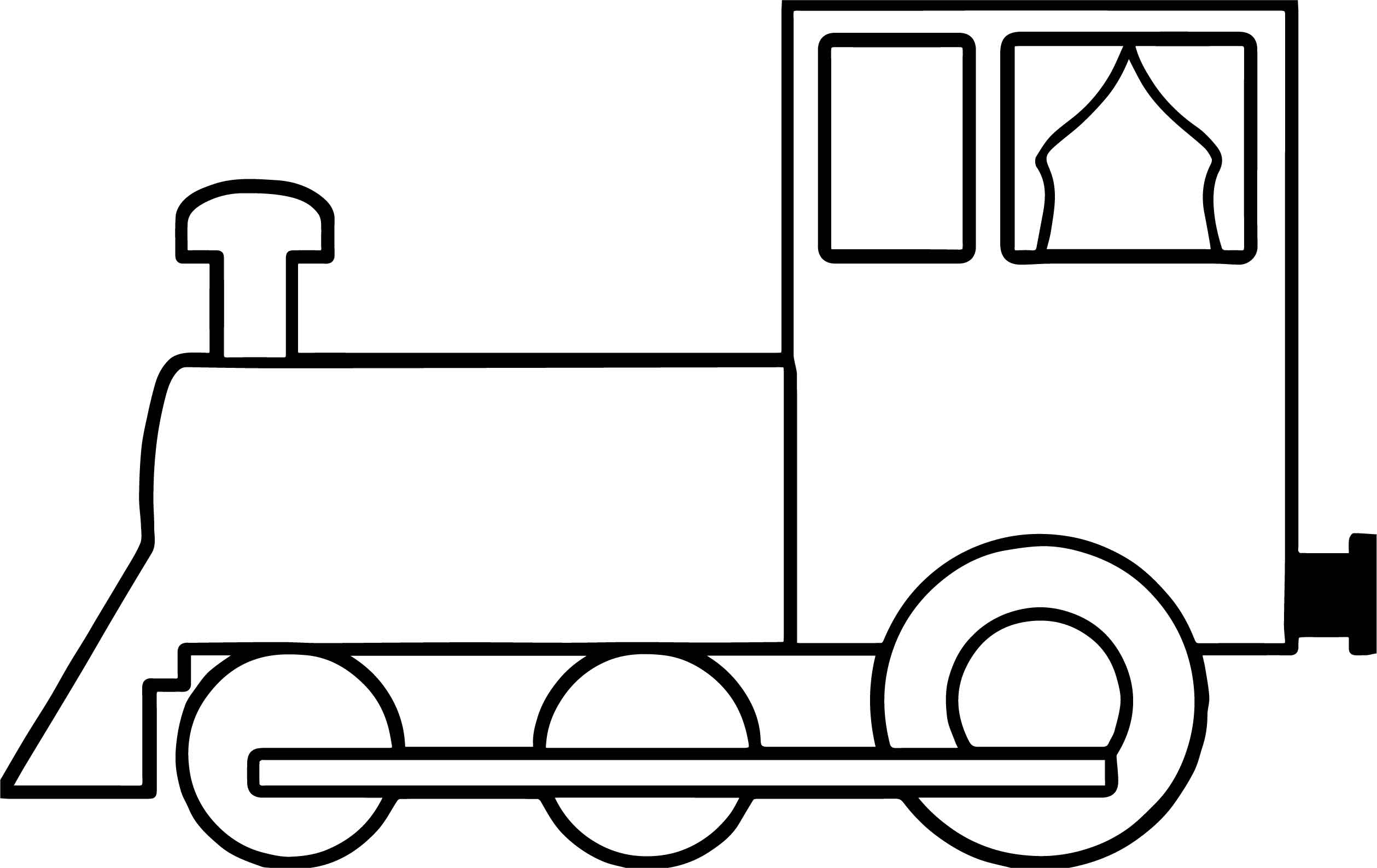 train coloring image train with two carriages coloring page free printable coloring train image