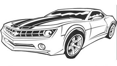 transformer car coloring pages pictures pages to print free bumblebee transformer car coloring pages transformer
