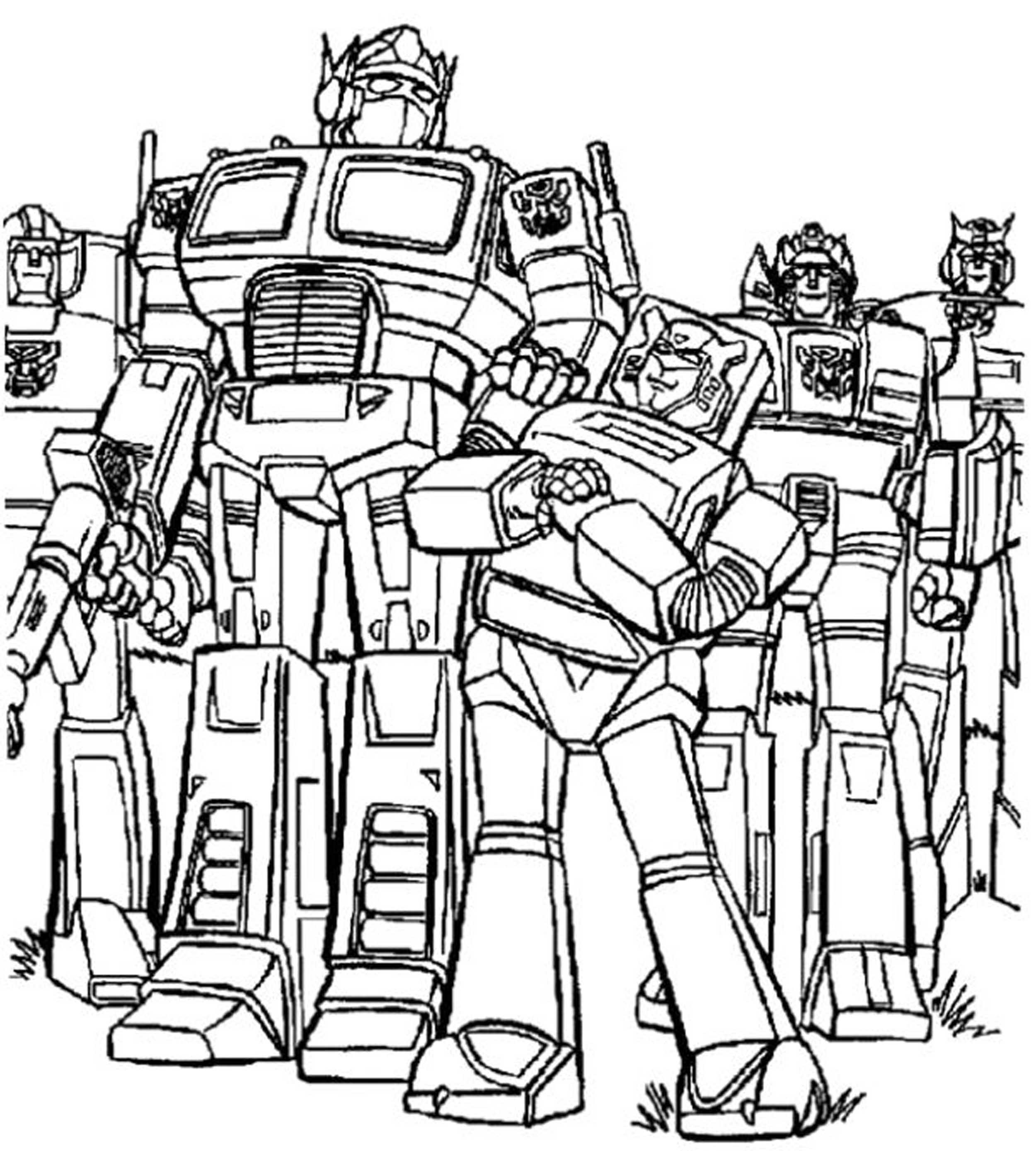 transformer for coloring print download inviting kids to do the transformers coloring for transformer