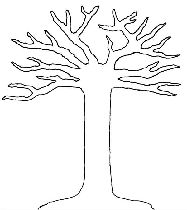 tree trunk coloring page 24 tree trunk coloring page southwestdanceacademycom coloring trunk tree page