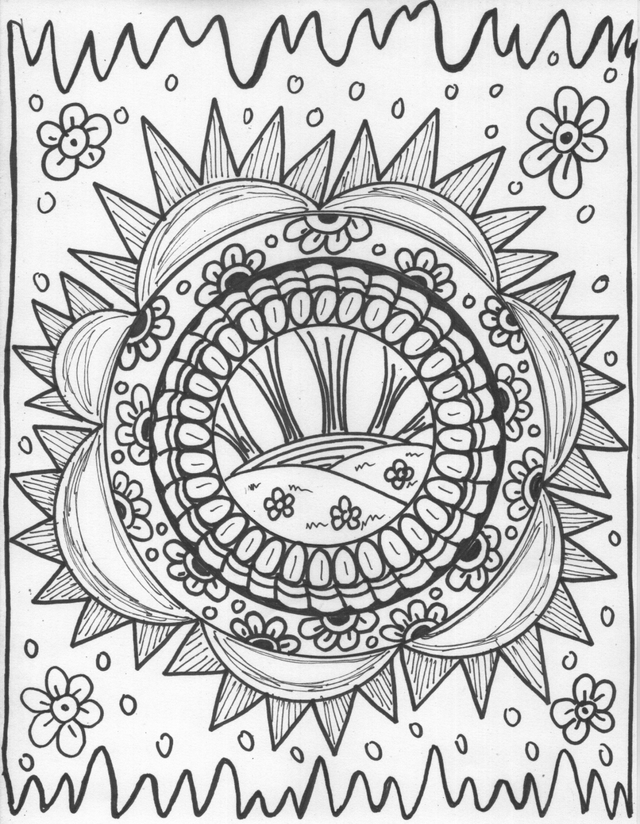 trippy color pages 314 best trippypsychedelic coloring pages images on pages color trippy
