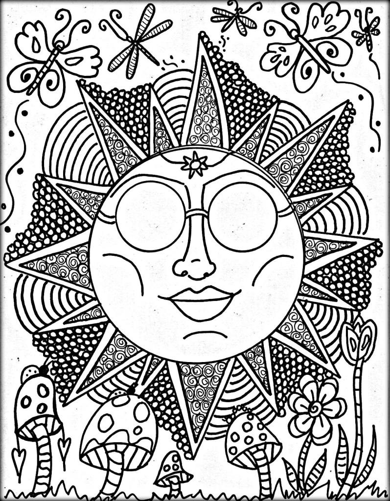 trippy color pages printable trippy coloring pages coloring home pages color trippy
