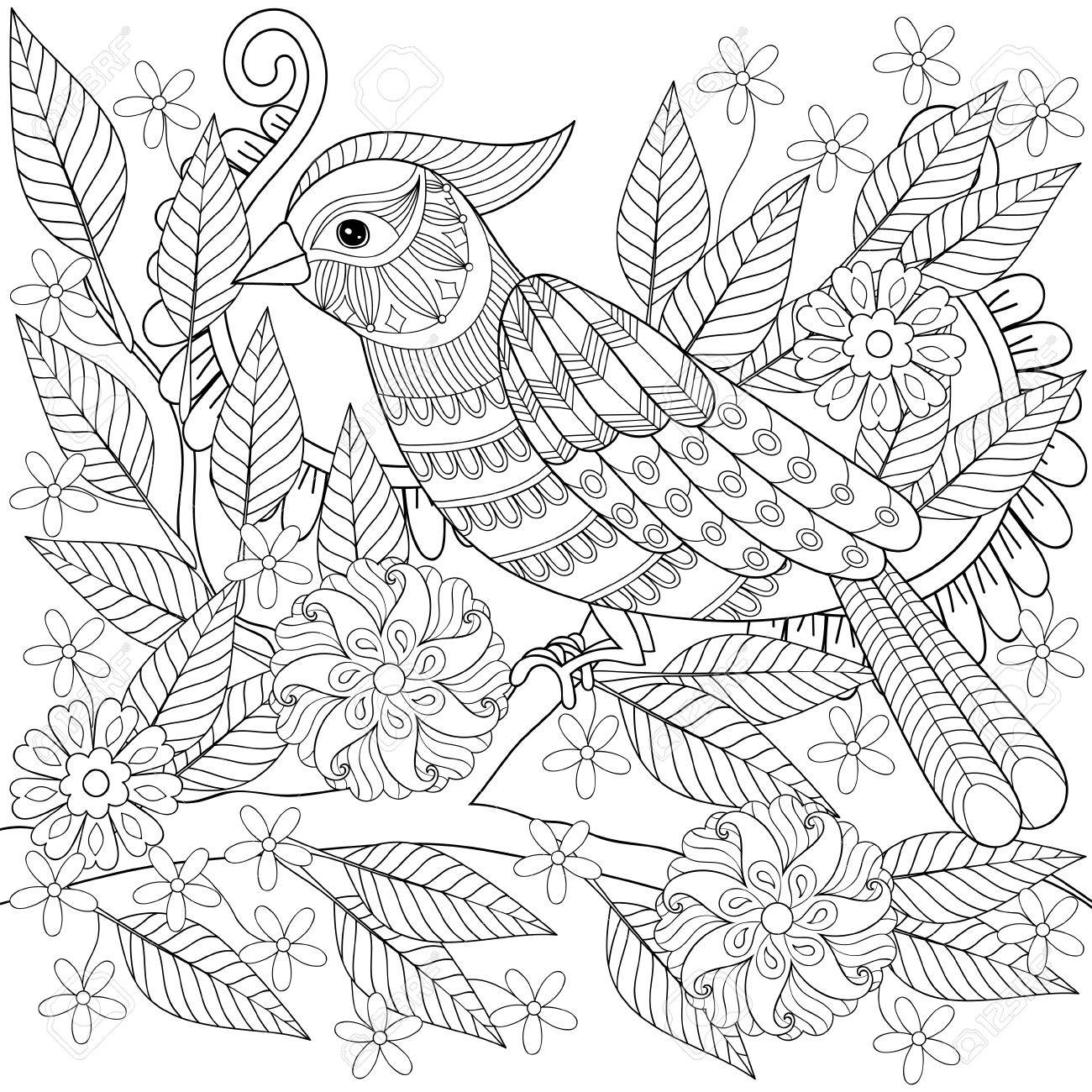tropical bird coloring pages free stunning tropical bird printable coloring free pages tropical bird coloring