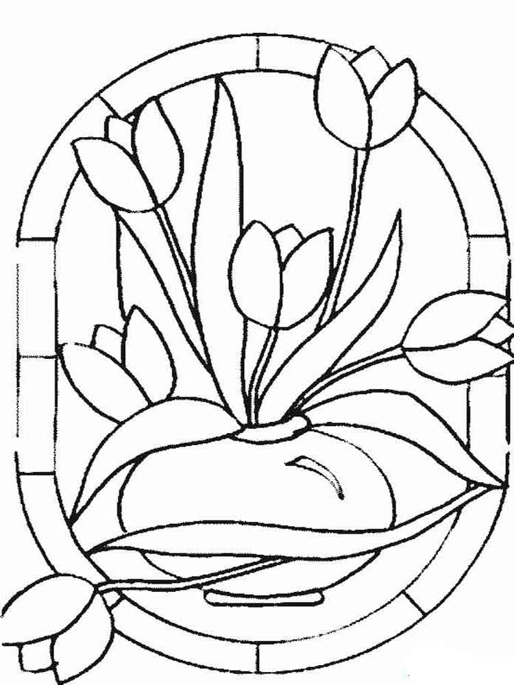 tulip colouring tulip flower coloring pages at getdrawings free download tulip colouring