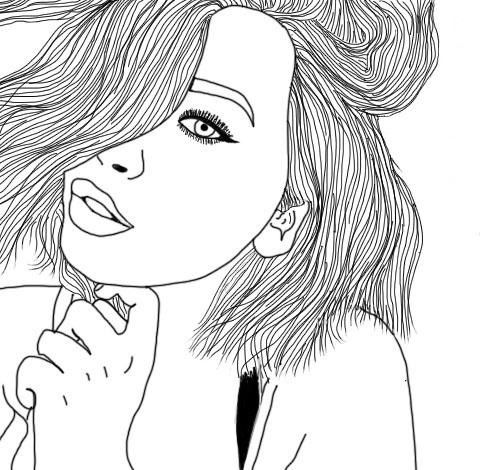 tumblr girl coloring pages coloring pages tumblr free download on clipartmag pages tumblr coloring girl