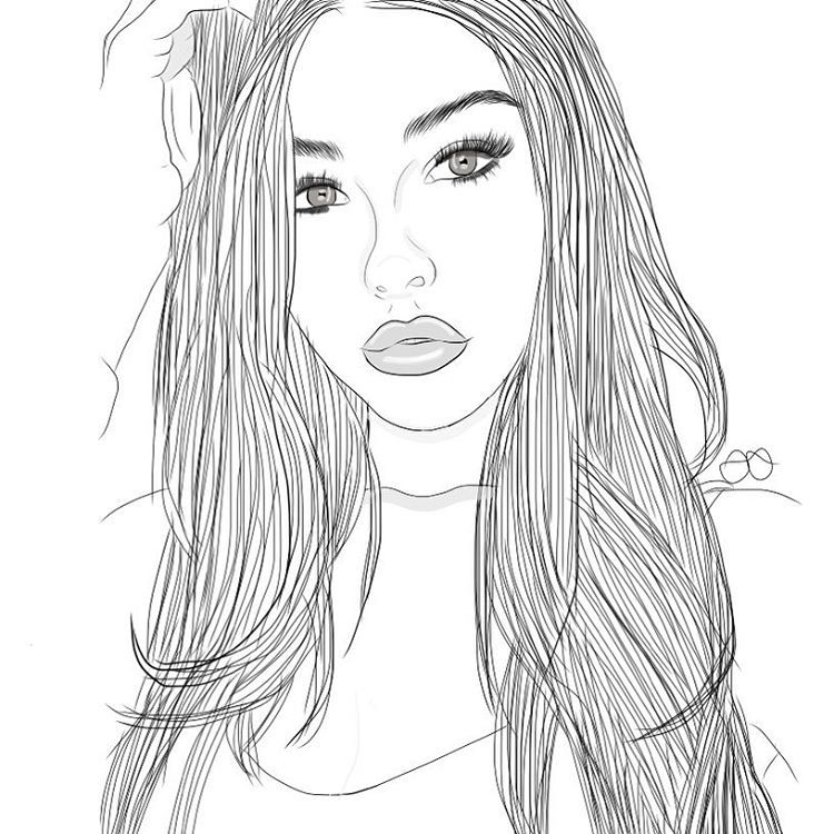 tumblr girl coloring pages girl and drawing image menina tumblr desenho desenhos tumblr girl coloring pages