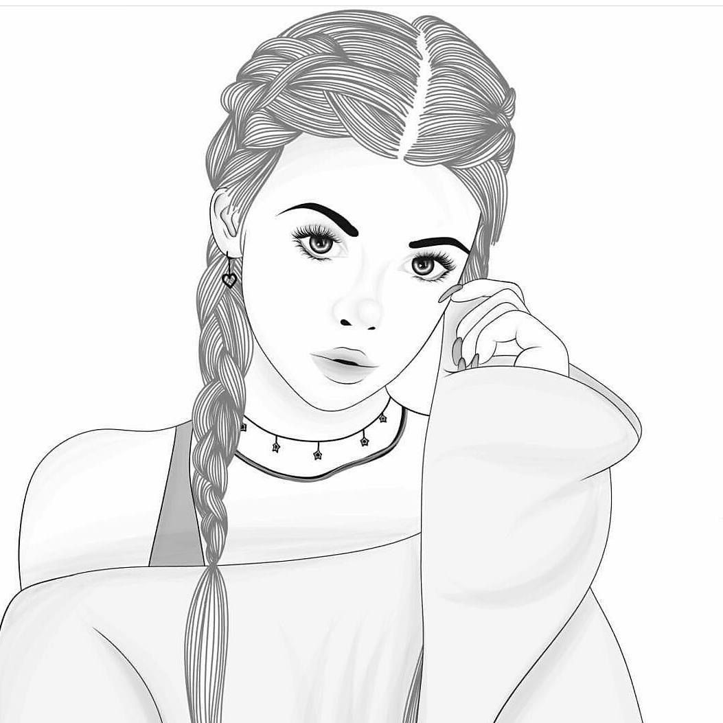 tumblr girl coloring pages grunge outline tumblr girl pages tumblr coloring