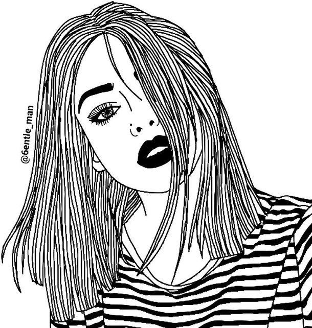 tumblr girl coloring pages hipster tumblr girl coloring pages arty art art in 2019 coloring tumblr girl pages