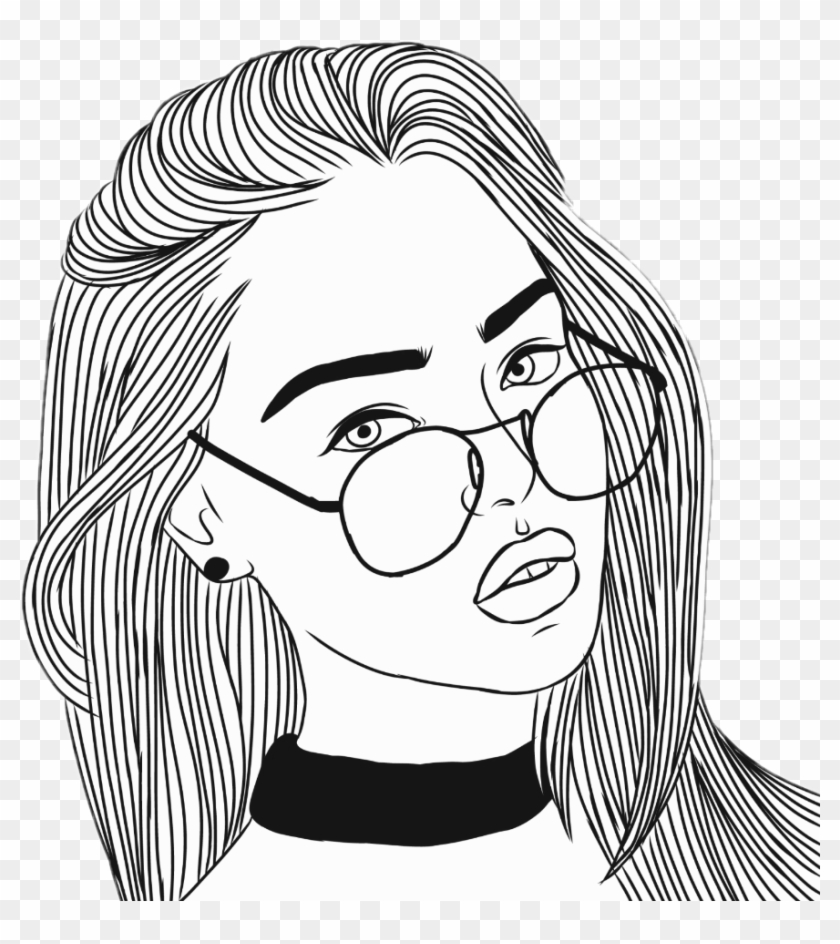 tumblr girl coloring pages mandala tumblr transparent sketch coloring page tumblr coloring tumblr pages girl