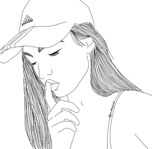 tumblr girl coloring pages outlines tumblr tumblr tumblr coloring girl pages