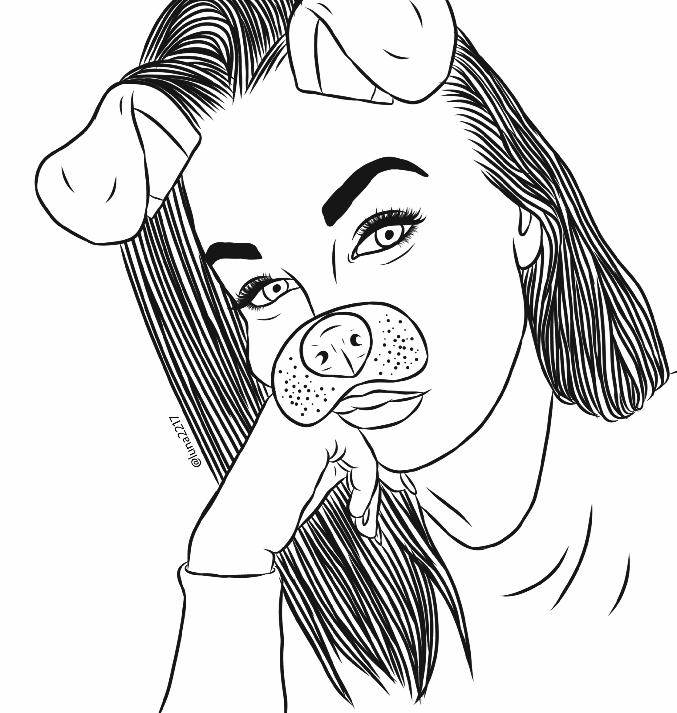 tumblr girl coloring pages pin on outlines coloring tumblr pages girl