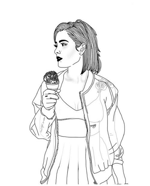 tumblr girl coloring pages pin on t a r t pages coloring girl tumblr