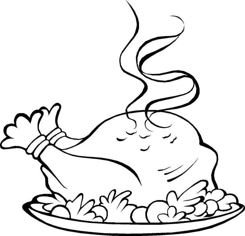 turkey dinner coloring page cooking tip of the day it39s turkey time again clip art dinner turkey page coloring