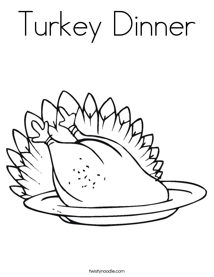 turkey dinner coloring page turkey dinner coloring page twisty noodle turkey coloring page dinner