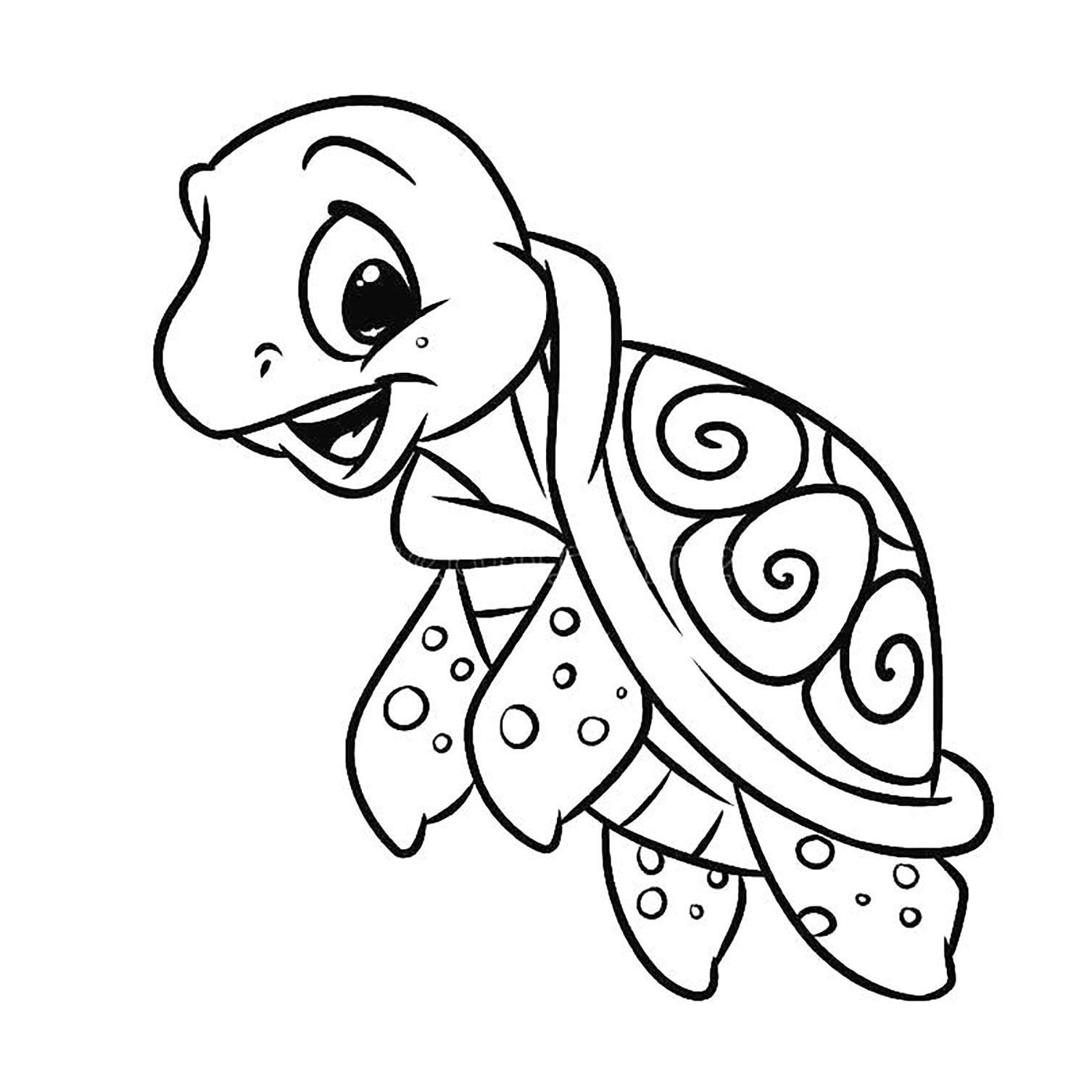 turtle pictures to color sea turtle drawing color at getdrawings free download color turtle pictures to