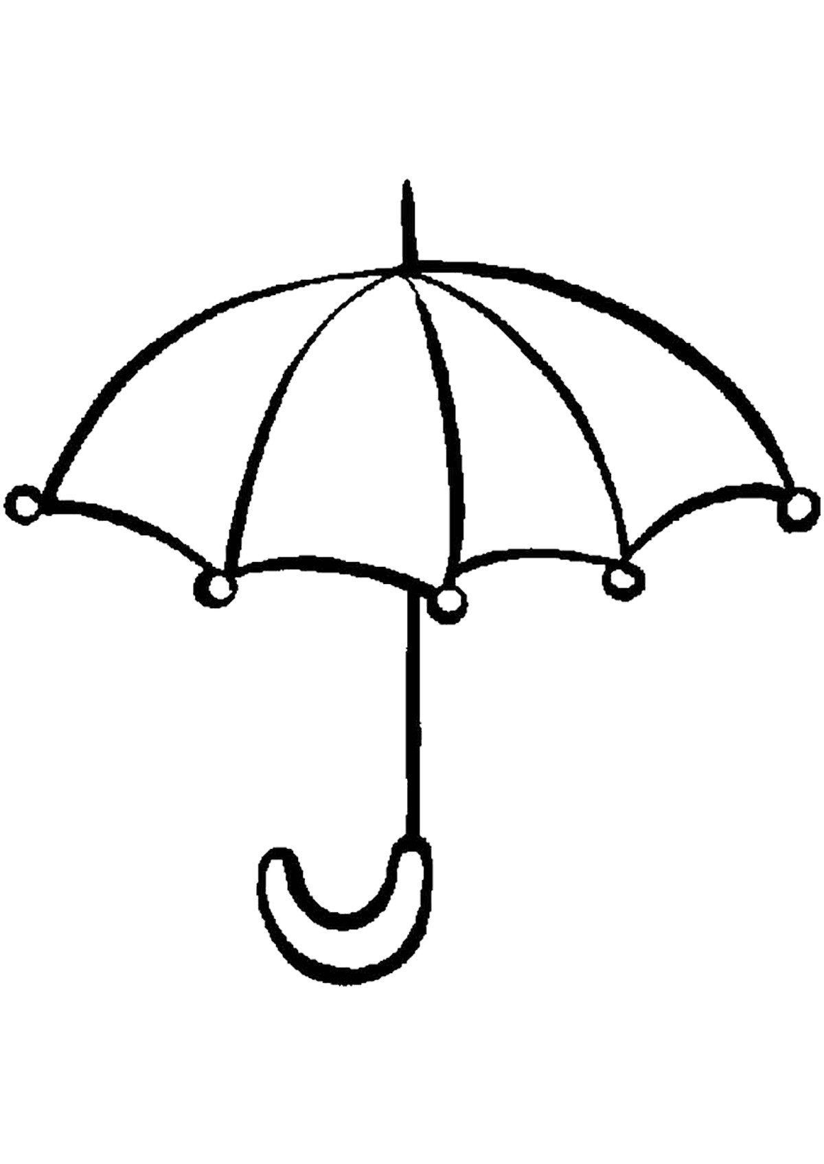 umbrella coloring page umbrella coloring pages for childrens printable for free coloring umbrella page